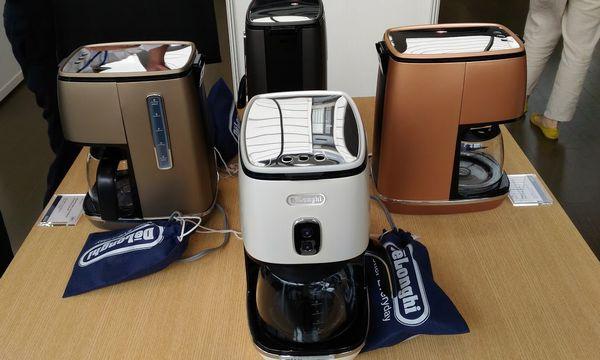 デロンギ ディスティンタ ドリップコーヒーメーカーは秋発売予定、24000円。