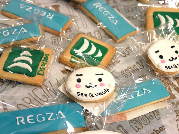 こんなクッキーも用意されていました。かわいい!